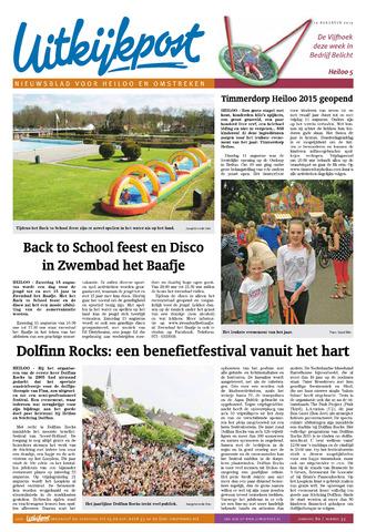 Uitkijkpost : nieuwsblad voor Heiloo e.o. 2015-08-12