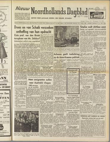 Nieuw Noordhollandsch Dagblad : voor Alkmaar en omgeving 1951-02-17