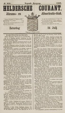 Heldersche Courant 1869-07-24