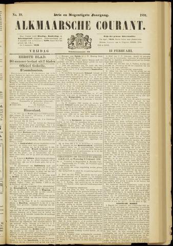 Alkmaarsche Courant 1891-02-13