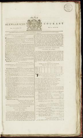 Alkmaarsche Courant 1827-04-02