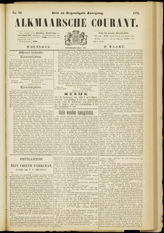 Alkmaarsche Courant 1891-03-11