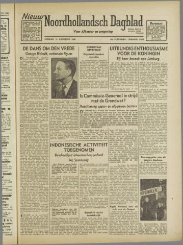 Nieuw Noordhollandsch Dagblad : voor Alkmaar en omgeving 1946-08-13