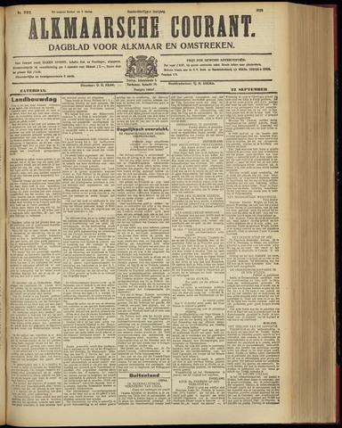 Alkmaarsche Courant 1928-09-22