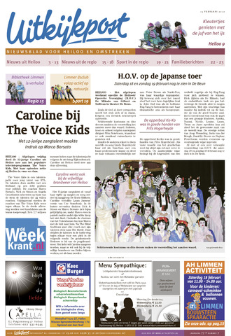 Uitkijkpost : nieuwsblad voor Heiloo e.o. 2012-02-15