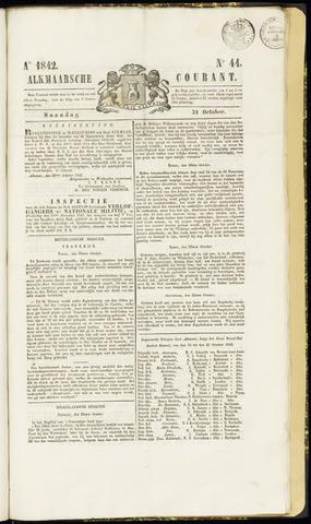 Alkmaarsche Courant 1842-10-31