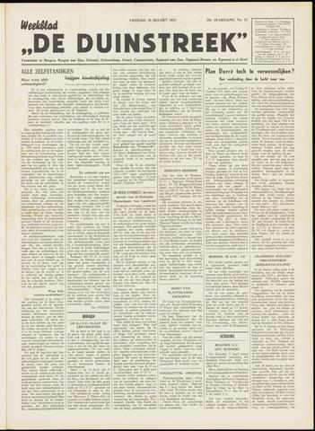 De Duinstreek 1952-03-28