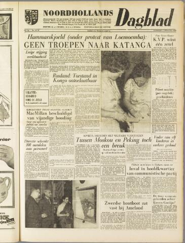 Noordhollands Dagblad : dagblad voor Alkmaar en omgeving 1960-08-06