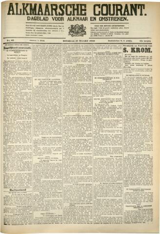 Alkmaarsche Courant 1930-03-18