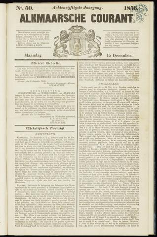 Alkmaarsche Courant 1856-12-15