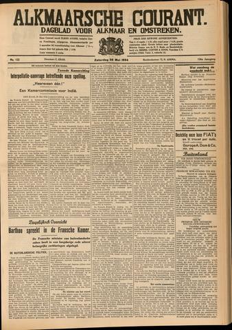 Alkmaarsche Courant 1934-05-26