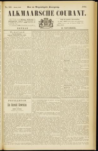 Alkmaarsche Courant 1894-11-25