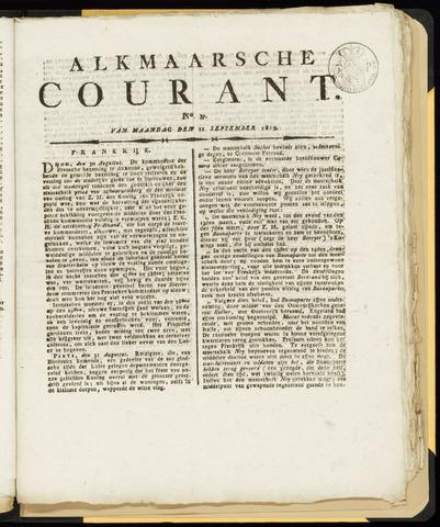 Alkmaarsche Courant 1815-09-11