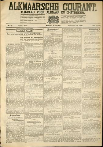 Alkmaarsche Courant 1933-07-02