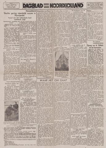 Dagblad Noord-Holland, Schager editie 1944-08-15