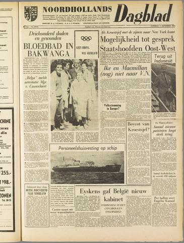 Noordhollands Dagblad : dagblad voor Alkmaar en omgeving 1960-09-03