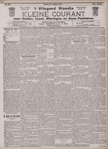 Vliegend blaadje : nieuws- en advertentiebode voor Den Helder 1902-08-30