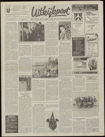 Uitkijkpost : nieuwsblad voor Heiloo e.o. 1991-10-16