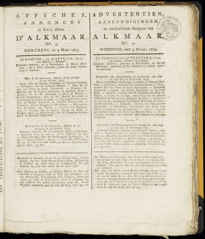 Alkmaarsche Courant 1813-03-03