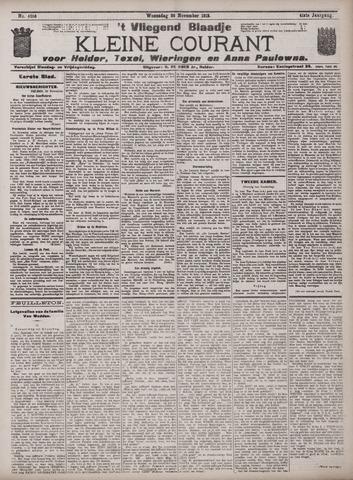 Vliegend blaadje : nieuws- en advertentiebode voor Den Helder 1913-11-26
