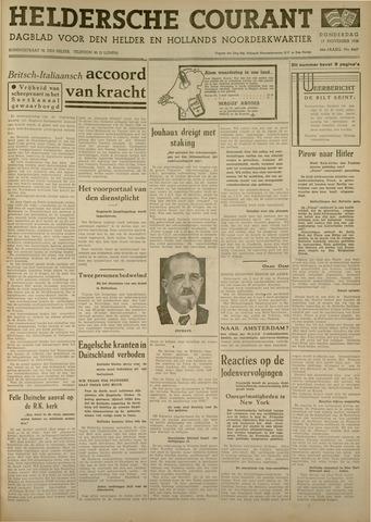 Heldersche Courant 1938-11-17