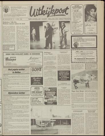 Uitkijkpost : nieuwsblad voor Heiloo e.o. 1985-04-03