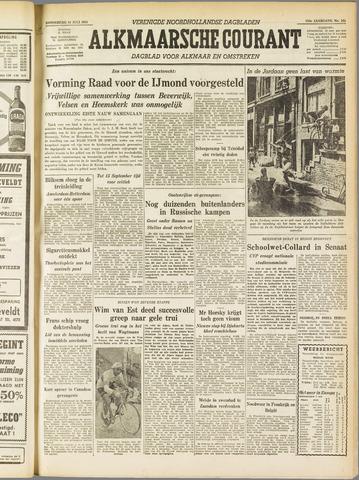 Alkmaarsche Courant 1955-07-14