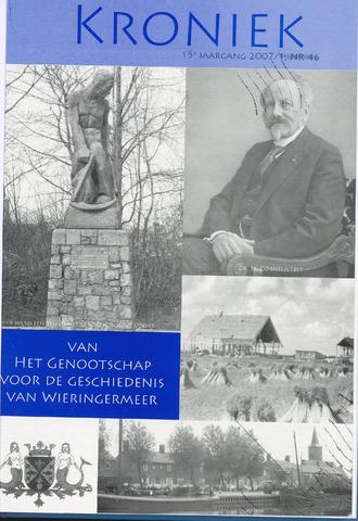 Kroniek Historisch Genootschap Wieringermeer 2007