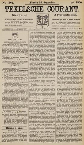 Texelsche Courant 1900-09-23
