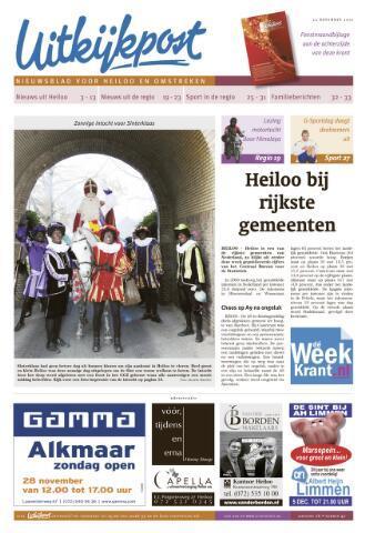 Uitkijkpost : nieuwsblad voor Heiloo e.o. 2010-11-24