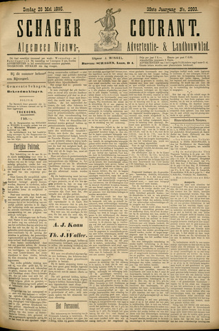 Schager Courant 1895-05-26