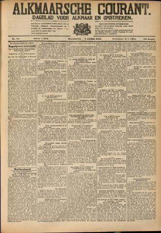 Alkmaarsche Courant 1930-04-07