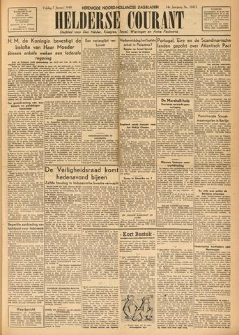 Heldersche Courant 1949-01-07