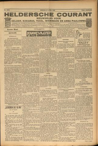 Heldersche Courant 1926-04-27