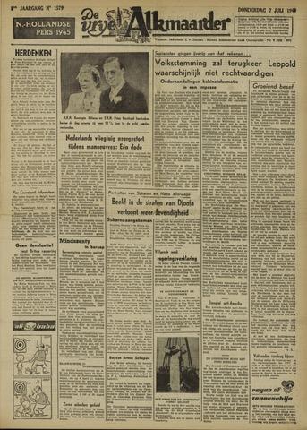 De Vrije Alkmaarder 1949-07-07