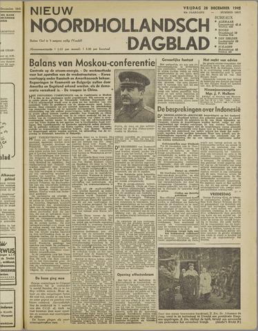 Nieuw Noordhollandsch Dagblad : voor Alkmaar en omgeving 1945-12-28