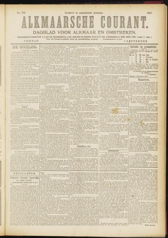 Alkmaarsche Courant 1917-09-07