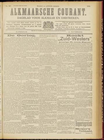 Alkmaarsche Courant 1916-11-11