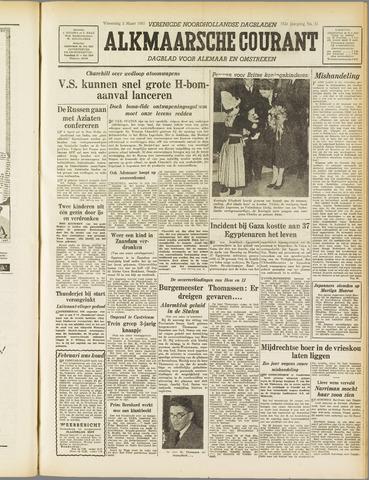 Alkmaarsche Courant 1955-03-02