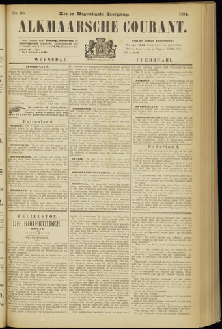 Alkmaarsche Courant 1894-02-07