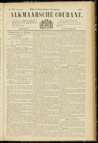 Alkmaarsche Courant 1893-10-15