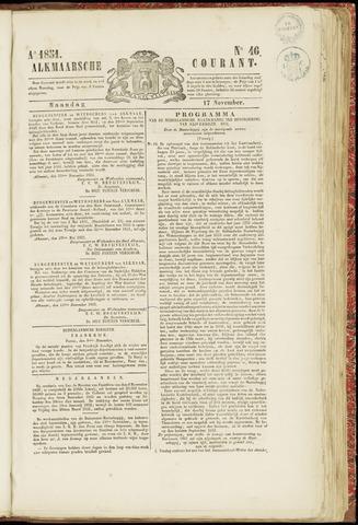 Alkmaarsche Courant 1851-11-17