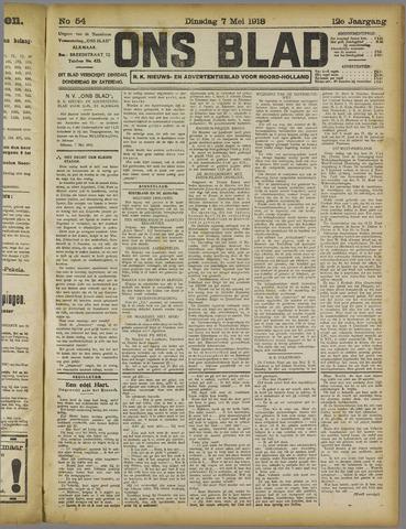Ons Blad : katholiek nieuwsblad voor N-H 1918-05-07