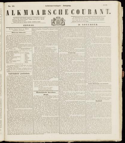 Alkmaarsche Courant 1876-11-26