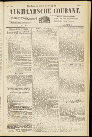 Alkmaarsche Courant 1905-07-16