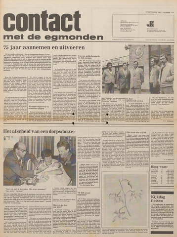 Contact met de Egmonden 1980-09-17