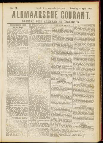 Alkmaarsche Courant 1907-04-06