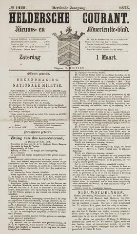 Heldersche Courant 1873-03-01