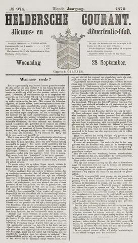 Heldersche Courant 1870-09-28