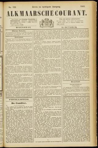 Alkmaarsche Courant 1885-10-14